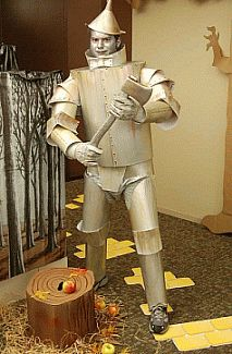 Picture: Tin Man costume created by Brian Hopkins of Georgia out of poster board!