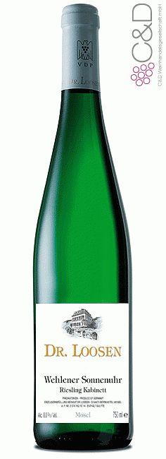 Folgen Sie diesem Link für mehr Details über den Wein: http://www.c-und-d.de/Mosel-Saar-Ruwer/Riesling-Kabinett-Wehlener-Sonnenuhr-2015-Weingut-Dr-Loosen_71688.html?utm_source=71688&utm_medium=Link&utm_campaign=Pinterest&actid=453&refid=43 | #wine #whitewine #wein #weisswein #moselsaarruwer #deutschland #71688