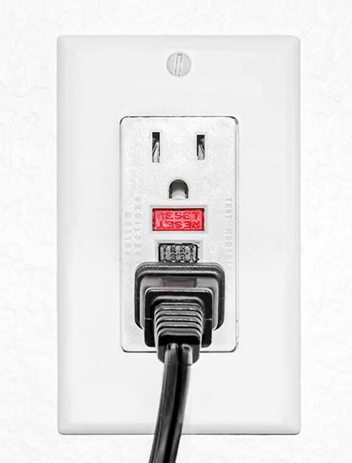 Not all outlets are created equal. There are different types of outlets required for different electrical needs and spaces in the home, including GFCI, AFCI and Tamper Resistant Receptacles. More info at #poweryourreno