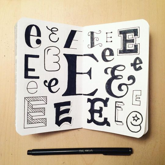 Best Lettering Images On   Typography Calligraphy