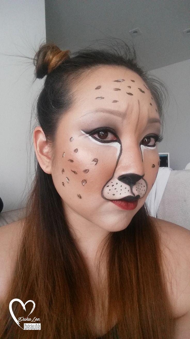 Cheetah MUA Erika Lee Maquiagem artística, Maquiagem