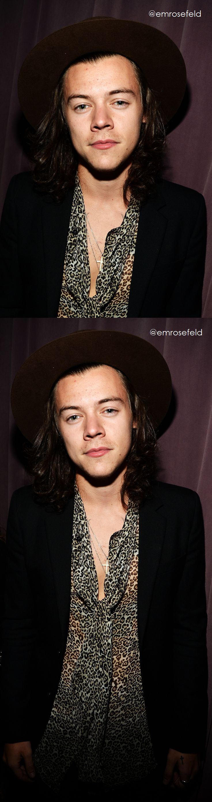 Harry Styles   at The Rolling Stones Los Angeles Club Show at The Fonda Theatre 5.20.15   @emrosefeld  