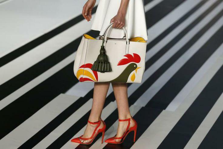 Fashion-Week London: Mode von Anya Hindmarch  (Bild: Reuters)