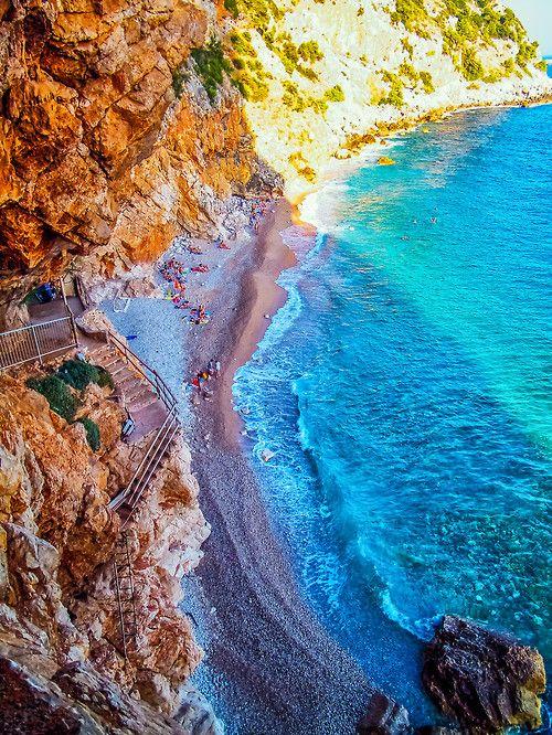 Pasjača beach, Konavle | Croatia (by Mihovil Mandić) || Great shot Mihovil! Check my photos from Pasjača beach on my croatian blog: http://crolove.pl/konavoske-stijene-strome-klify-poludniowej-dalmacji/