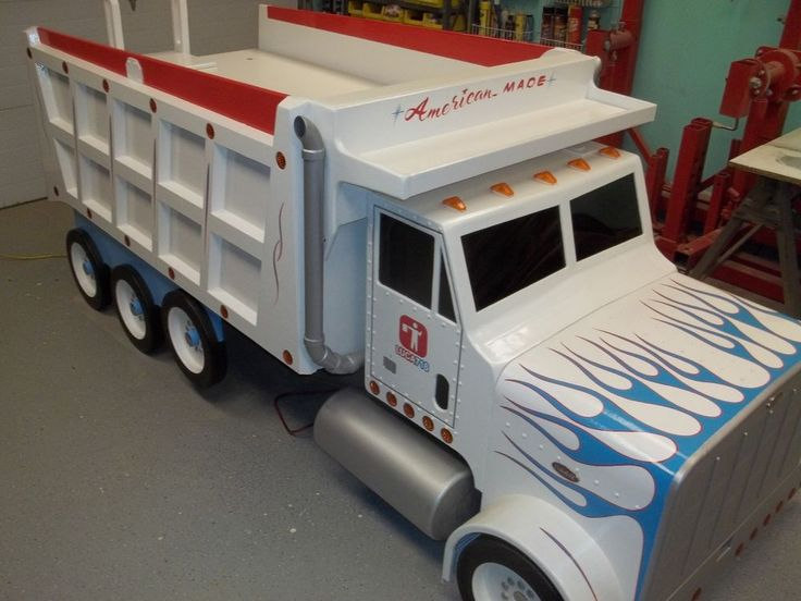 Dump Truck Toddler Bed : Best images about kids theme beds on pinterest kid