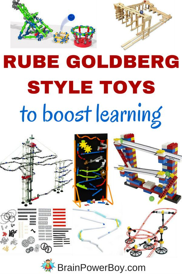 Are you looking for a super fun way to boost learning? Try these 12 incredible Rube Goldberg style toys. They are perfect! Click to see what toys will get your kids thinking and learning.