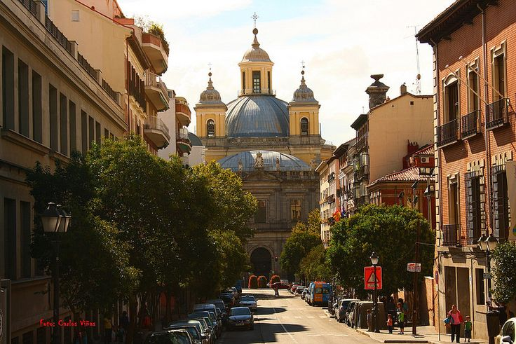 Iglesia de San Francisco el Grande. Carrera de San Francisco. Madrid