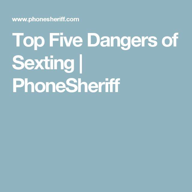 Top Five Dangers of Sexting
