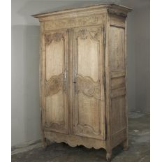 Inessa Stewart's Antiques offers a huge selection of antique armoires & country French armoires, ranging from simple and rustic to grandiose and embellished.