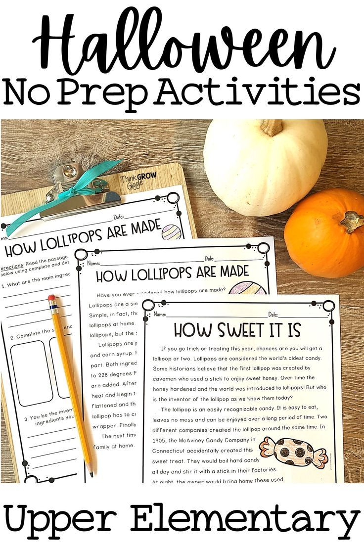Halloween Activities And Reading Comprehension Digital Print Halloween Reading Activity Halloween Reading Passages Halloween Reading [ 1104 x 736 Pixel ]