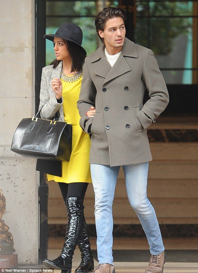 Forget Brentwood! Lucy Mecklenburgh and Mario Falcone on a romantic getaway to Paris