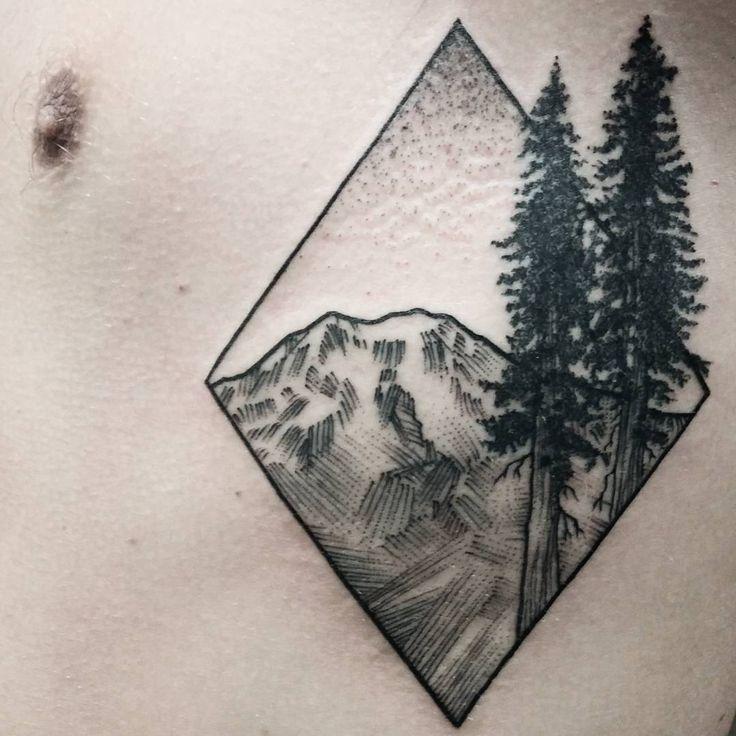 Nature business! #tattoo #seattle #seattletattoo #ink #blackwork #metal #dotwork…
