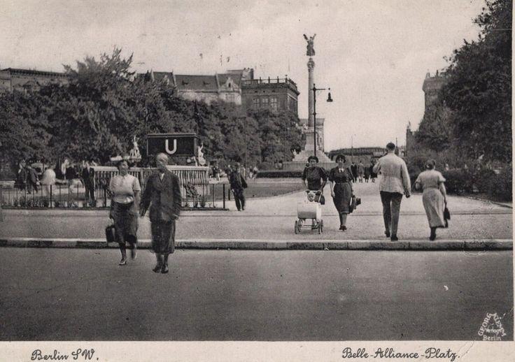 Berlin 1930er Belle-Alliance-Platz (heute Mehringplatz)