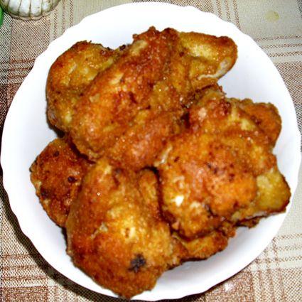 Serbian fried breaded chicken wings (Pohovana pileća krilca)