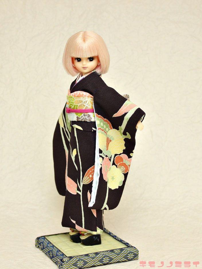 Licca kimono,リカちゃん 着物,ブライス 振袖
