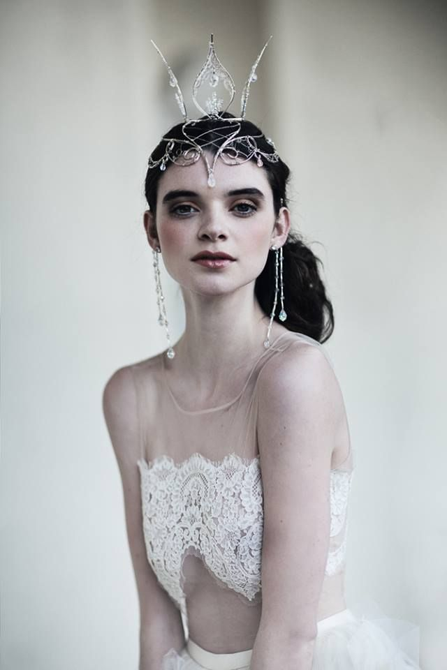 This would be a perfect wedding up-style for a princess! see more on our blog: http://goo.gl/797YTS   #emilysoto #hairpassioncork #bridalhairinspiration
