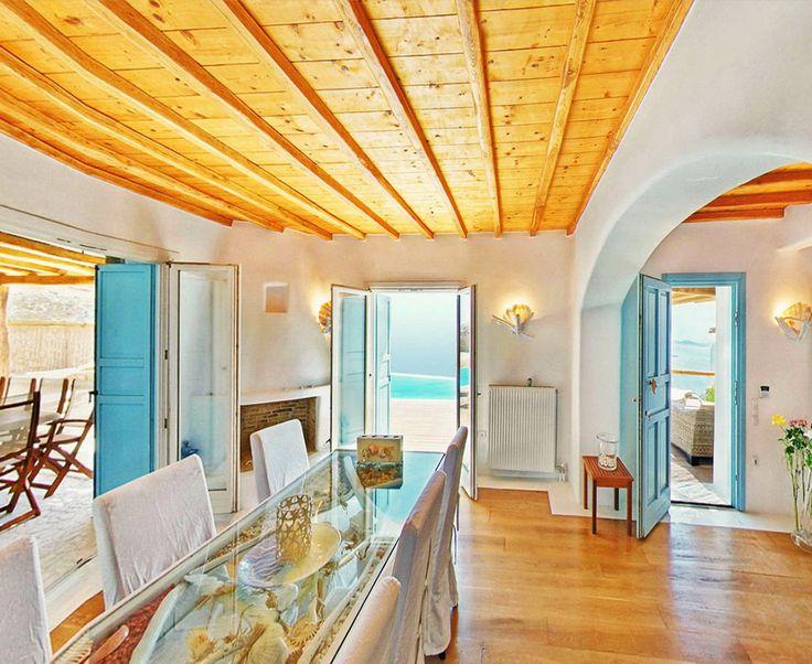 Urania Villa Dining Room