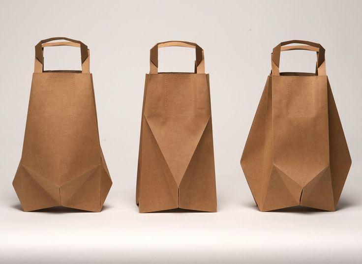 Ame Design - amenidades do Design . blog: Dobras renovam embalagem de papel