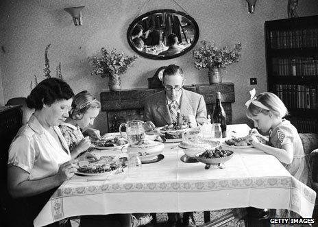 91 best images about vintage family dinners on pinterest. Black Bedroom Furniture Sets. Home Design Ideas