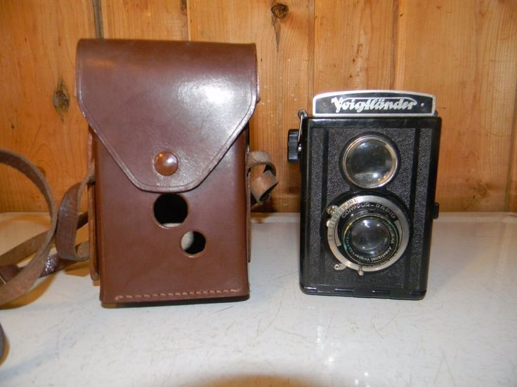 Vintage Voigtlander Brillant COM PUR Rapid Twin Lens Film Camera  #Voigtlander
