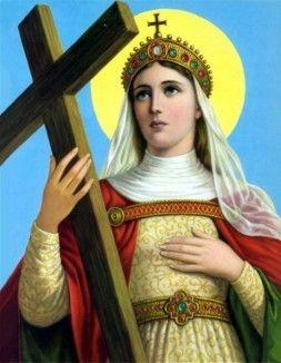 Santa Helena é a santa protetora contra fogos e aflições
