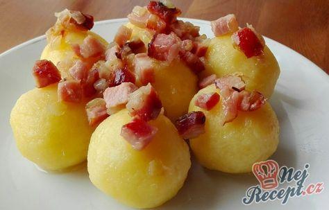 10-minutové bramborové knedlíky bez mouky a vajec   NejRecept.cz