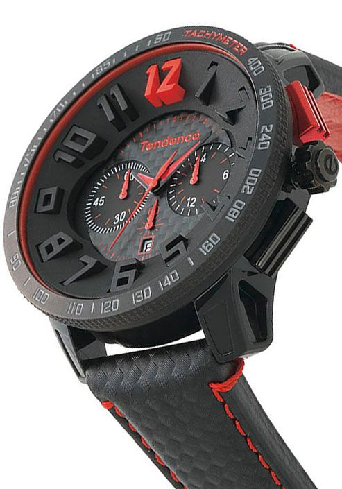 The Tendence Carbon Fiber Chrono TGS3001 Watch