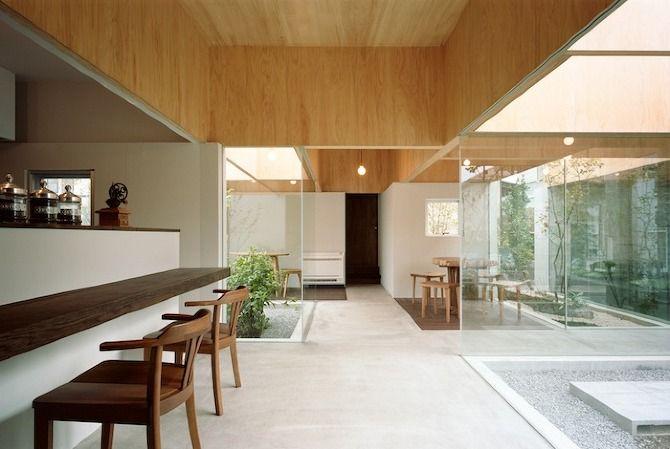 Table Hat by Hiroyuki Shinozaki ArchitectsCourtyards Gardens, Design Interiors, Tables Hats, Shinozaki Architects, House, Architecture, Hiroyuki Shinozaki, Outdoor Spaces, Contemporary Design