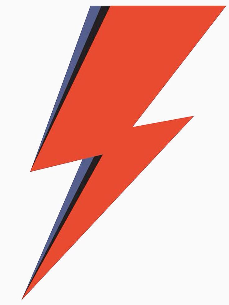 David Bowie Minimal Lightning Ziggy Stardust by neatdesign