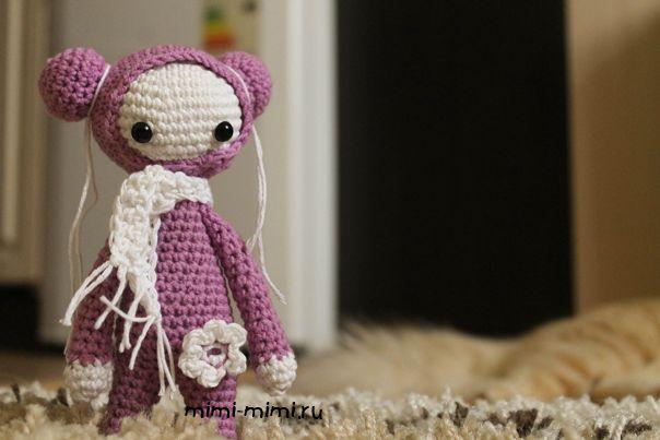 Вязаная крючком амигуруми кукла Flicka