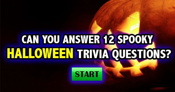 halloween quizzes and trivia