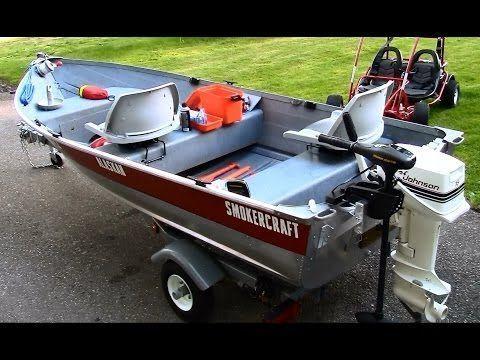 12 ft Aluminum Fishing Boat Restoration, Customization and Setup in HD - YouTube