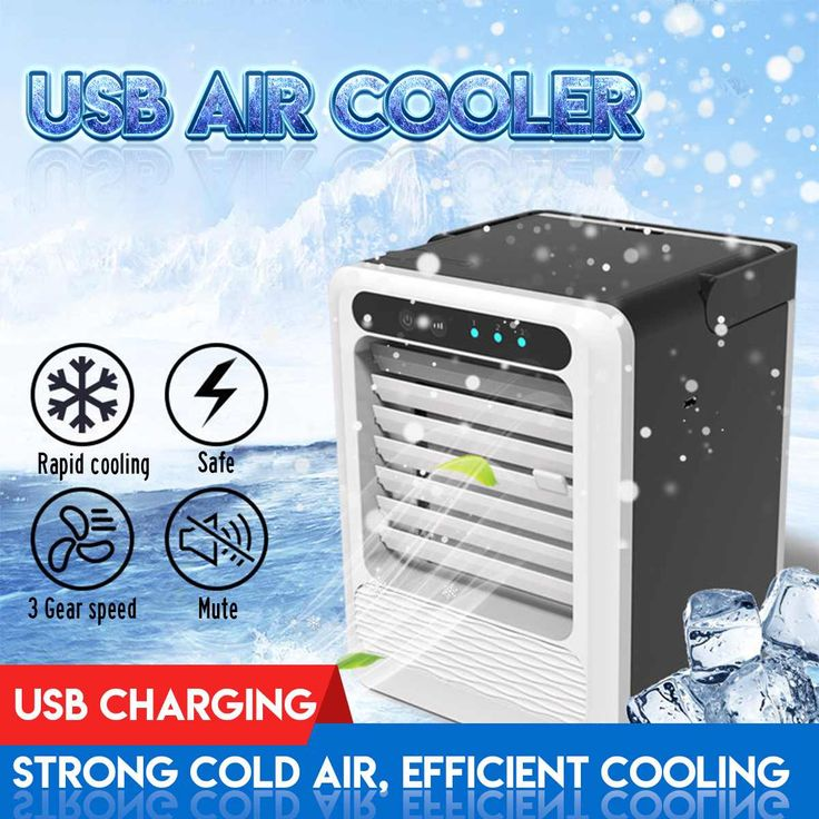 Portable Mini USB Air Conditioner Cooler Cooling