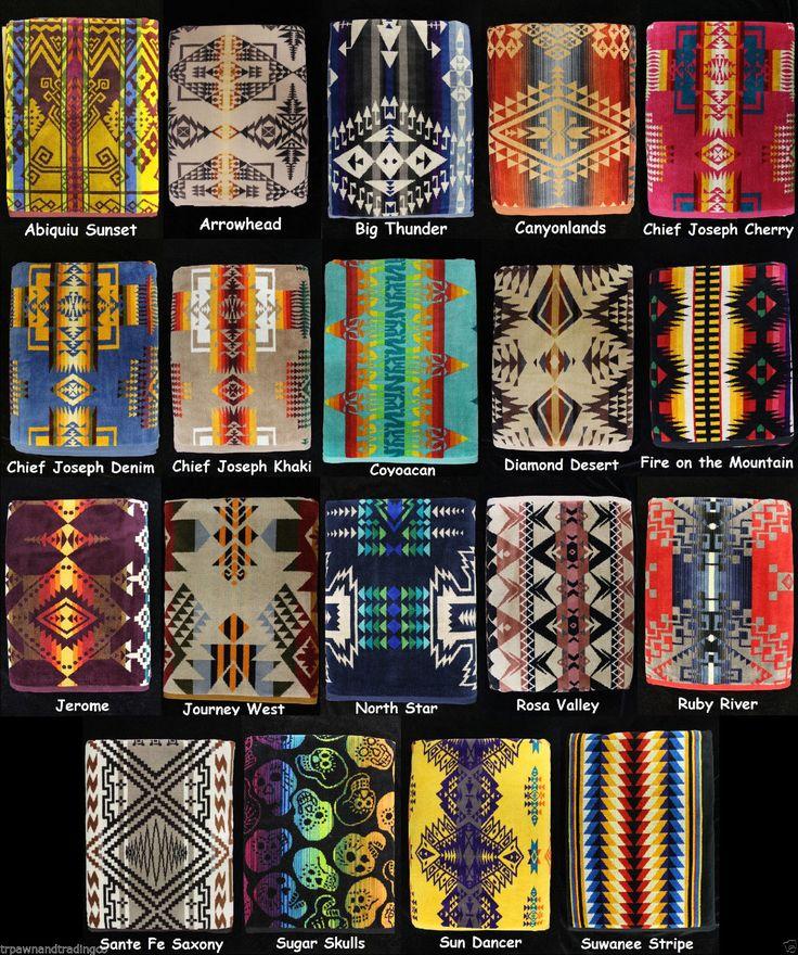 Pendleton Indian Blankets