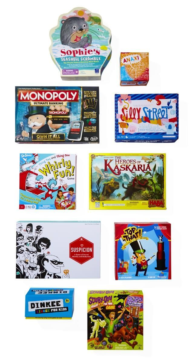 Try something new on your next game night. These family-tested picks are the best of the year!