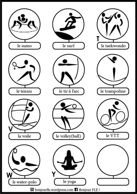 Les sports S-Y: