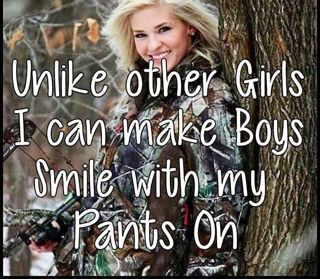 "Haha to all them ""country girls"" who half ass dress and are slutty!"
