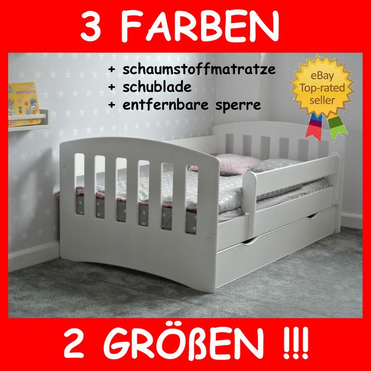 the 25+ best ideas about babybett matratze on pinterest | babybett ... - 33 Design Moderne Unisex Kinderbetten Jugendbetten