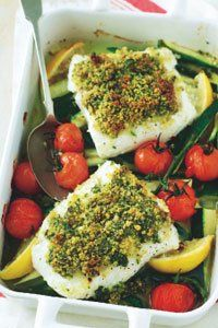 <center>Zingy and refreshing, make it fish on the menu tonight with our citrus baked cod fillets.