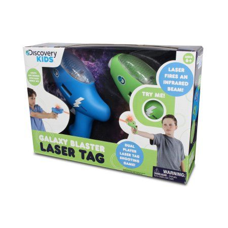Nkok Discovery Kids IR Galaxy Blaster Laser Tag Remote Control Toy