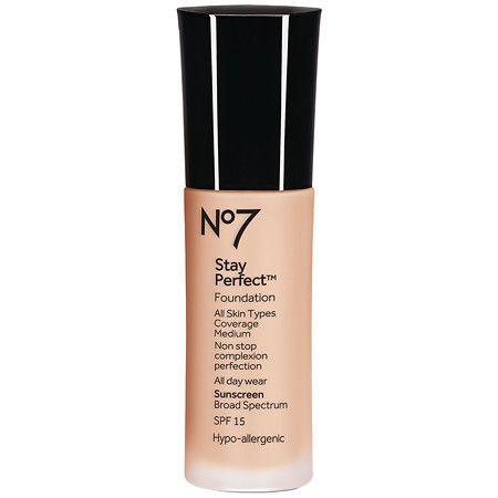 No7 Stay Perfect Foundation Spf 15 - 1 Oz.