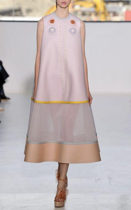 Delpozo Spring/Summer 2015 Trunkshow Look 34 on Moda Operandi