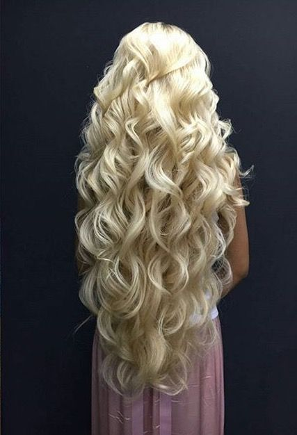 Long beautiful hair fixation #Rapunzel