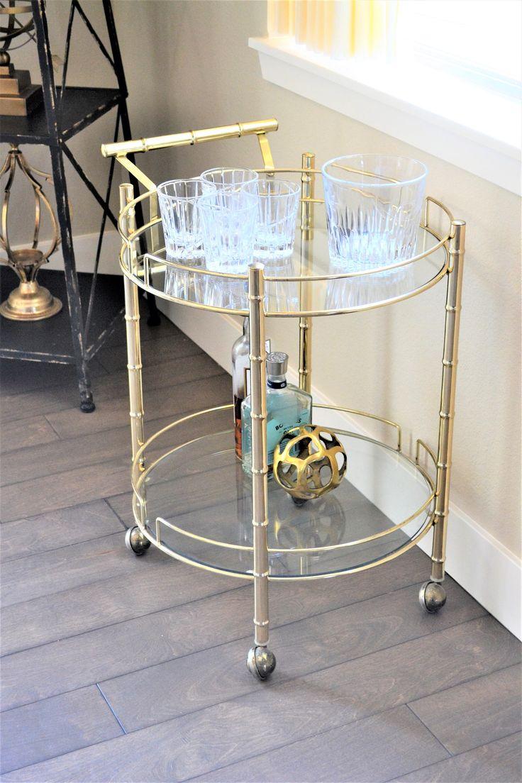Outdoor buffet table serving cart as well century modern console table - Mid Century Modern Bar Cart Brass Bar Cart Faux Bamboo Round Cart With
