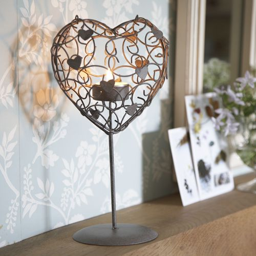 Heart Cage TeaLight Holder