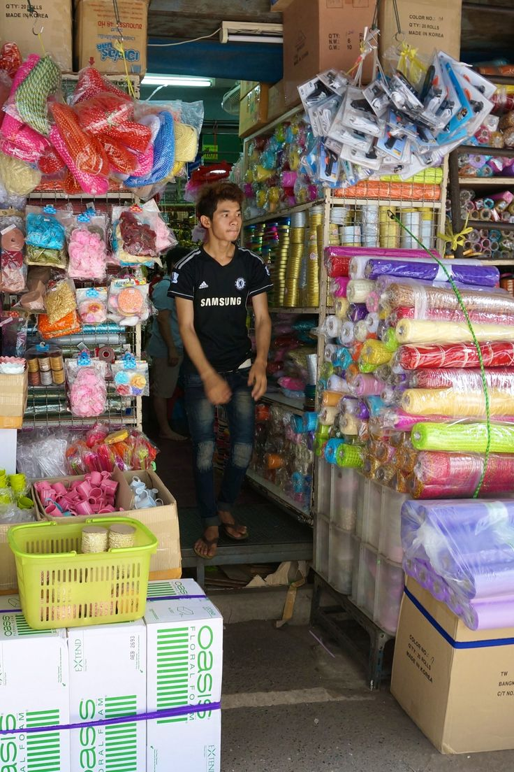 Somehow there is a harmony to the chaos of this spectacular Bangkok market where you'll see goods stuffed into every crevice.