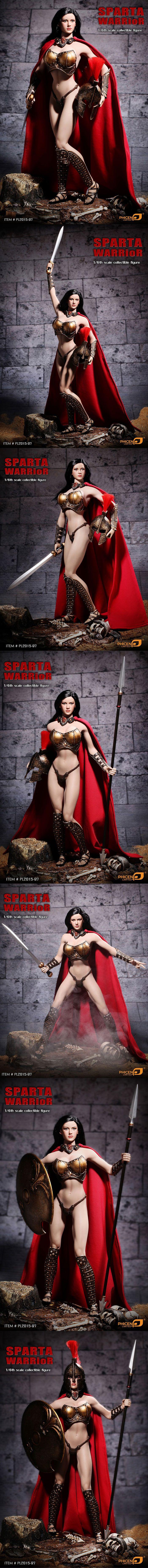 [[예약상품]PHICEN - 1/6th scale Sparta Warrior Figure (PL2015-97)]