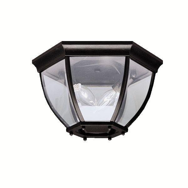 Kichler Lighting Traditional 2-light Outdoor Flush Mount
