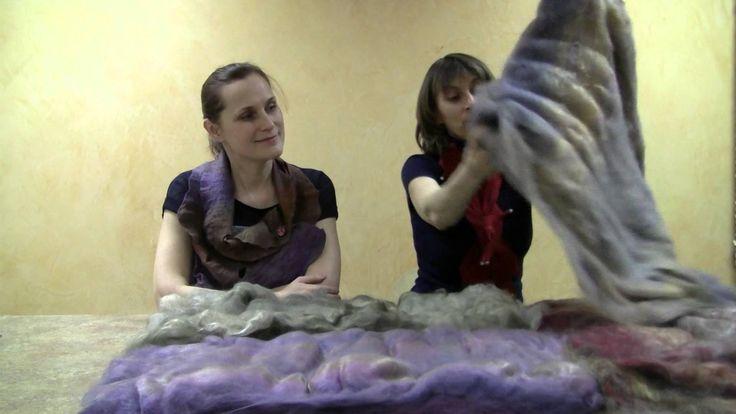 В гостях студии Felt4Fun Елена Сергеева с новым материалом для валяния.