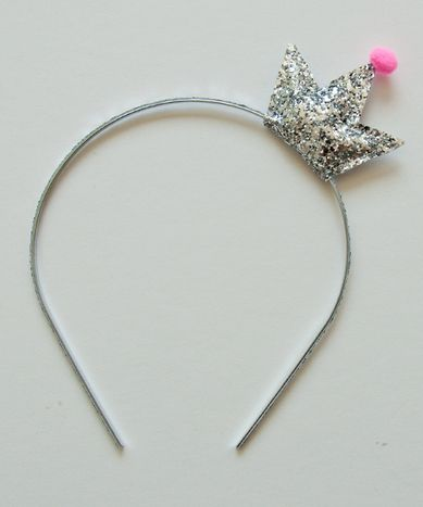 Namhee Crown Headband, Silver